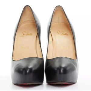 CHRISTIAN LOUBOUTIN black heel pump